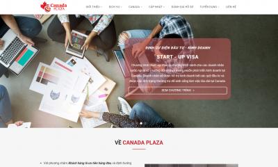 Thiết kế website bất động sản và định cư full