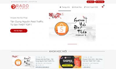 Thiết kế website bán khóa học